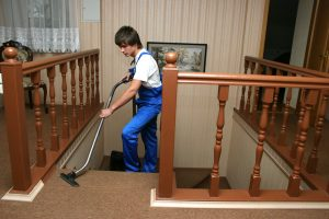 Our carpet cleaner working in residential sault ste marie.jpg